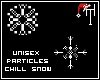-Chill snow, Particles