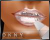 metalic silver lip gloss