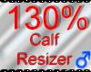 *M* Calf Resizer 130%