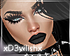 ✘Daryl Black Hair