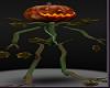 Fire Halloween Pumpkin