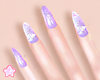 🌟 Flower Nail|Lilac