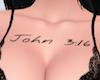 john 316 tattoo black xl