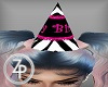 Zebra bday party Hat
