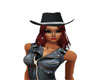 Pixy Cowgirl hat/hair