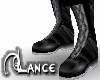 Black/Grey Boots