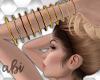 Abi~ Bracelets long Gold