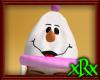 Snowman Ski Hat Pink