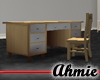 Ikia™ Frosted Desk - Wht
