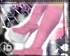 [ID] Pink Platform Boots