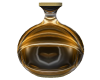 blk and gold vase
