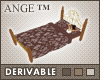 Ange™ Brass Bed