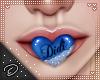 !D! Mah Mouth Blue