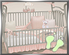 Baby Girl Princess Crib