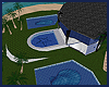 Blue Seashell Poolhouse