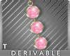 DEV Rosa Gem Earrings