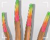 ṩGel Nails Rainbow