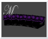 Purple Black Movie Couch