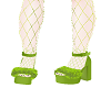 Shrek platforms+fishnets