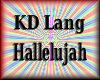 *F70 KD Lang Hallelujah