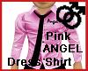 Pink ANGEL Dress Shirt
