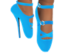 TURQUOISE BALLET SHOES