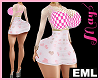 EML Bimbo Out. Dress PK