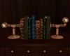 !Steampunk Bookends