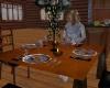 Animated kitchen table