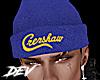 !D Crenshaw Beanie Blue