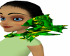 Green N Yellow Shoulder