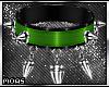 ~Spikes Choker Green~