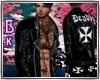 "♔""Bk DeadlyJacket"