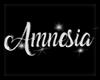 AMNESIA BANNER LETRERO