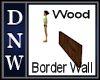short Wood Wall