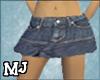 (T)blue jean skirt