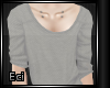 [Eci] Simply Gray Top