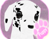 [Pup] Dalmation Head