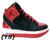 (TS) Blk Red W Jordans