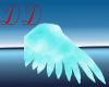 light blue angel wings