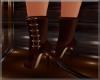 Brown stilletto boots