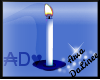 ADe White Candle
