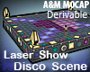 Laser Show Disco Scene
