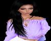 Lavender Mom Top