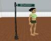 add a broadway sign