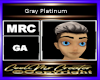 Gray Platinum