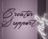 M:Creator support 16
