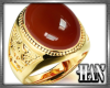 [H]Gold Ring ► Ruby