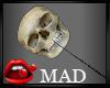 MaD Dark Lolipop skull