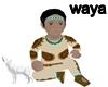 waya! Cherokee Baby Boy